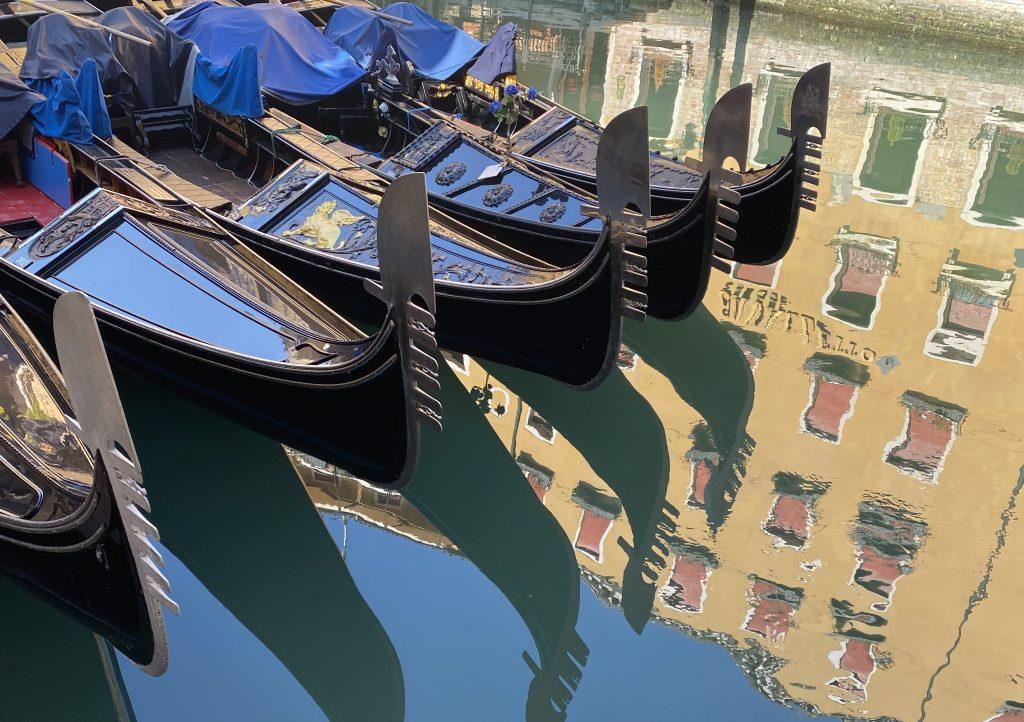Gondola v Benetkah