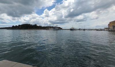 Pier in Rovinj